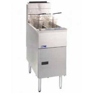 Pitco 35C+S Economy friteuse op gas