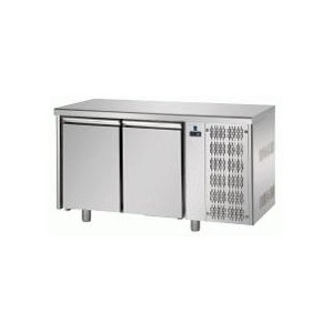 Koelwerkbank 2-deurs TP 1600 Euronorm (bakkerij)