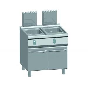 ATA friteuse op gas 15+15 liter - elektrische regelaar