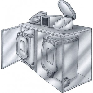 Afvalkoeler Gamko KFK/2 incl. koelunit