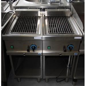 Lavasteengrill Mastro 400x700 open onderstel