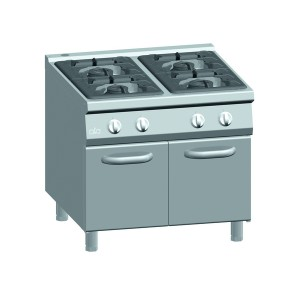 Kooktafel ATA 4-pits + deuren (power branders)