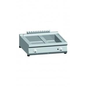 Bain-marie ATA gas 2x (1/1+1/3 GN) tafelmodel