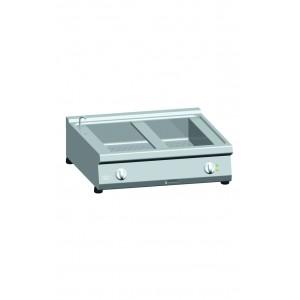 Bain-marie ATA elektrisch 2x (1/1+1/3 GN) tafelmodel